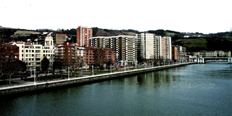 Neighborhood near the river/Ibai ondoko auzoa