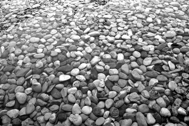 Harri koskorrak/Stones underwater