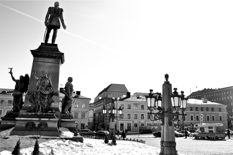 Hiri enparantza bat/City square