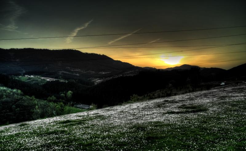 Eguzkia doa/Sun goes down