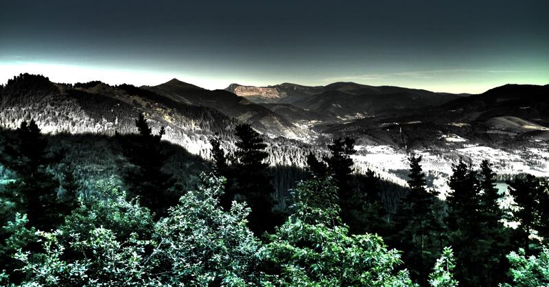 Mendiak/Mountain range