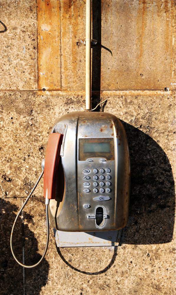 Telefono zaharra/Old telephone