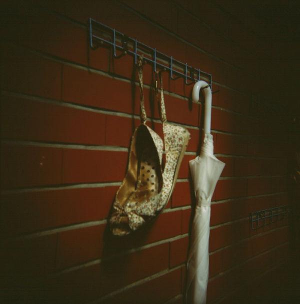Shoe n umbrella