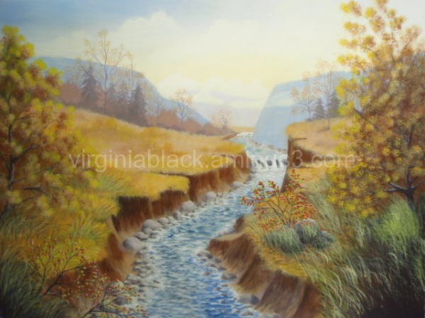 my art titled 'River runs through'