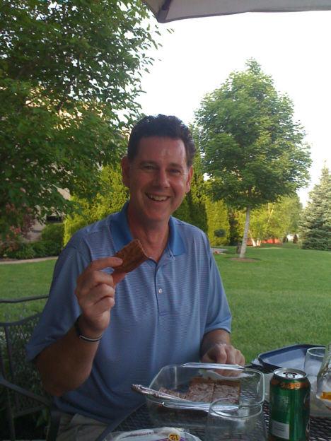 family dinner picnic IPhone