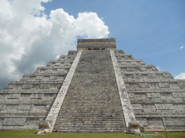 architecture pyramid mayan mexico