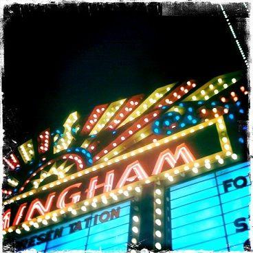 urban city movie theatre