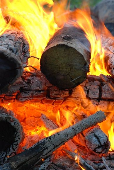 recreation campfire heat flame