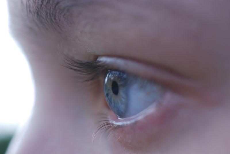people portrait eye lashes macro