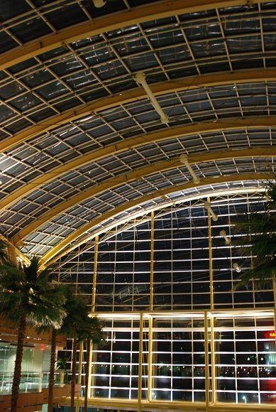 architecture building detroit night