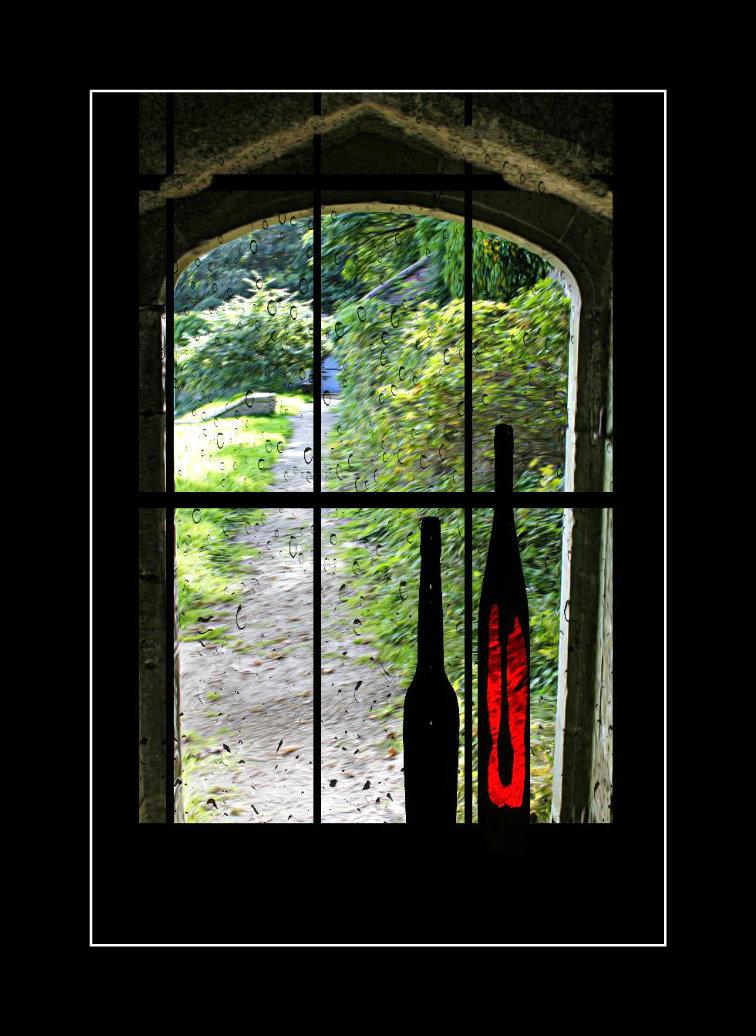 at Dunraven castle