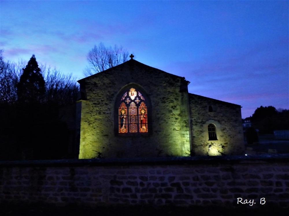 Eglise du village.