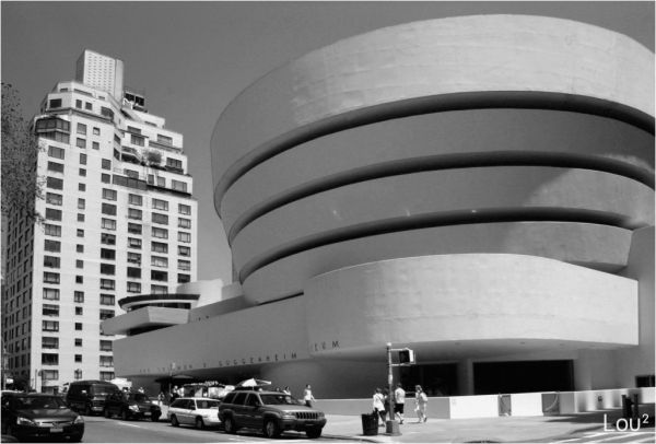 The Guggenheim Museum of NY