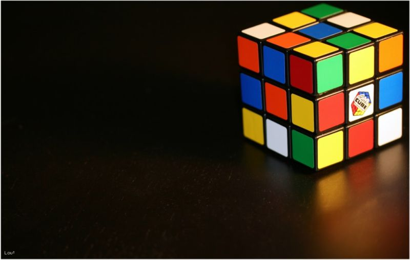 Surfaces of a Rubik's cube