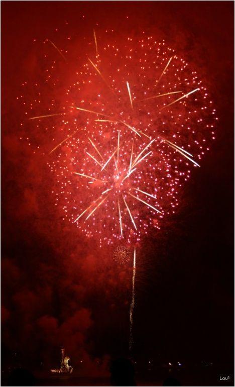 Fireworks in July 2005