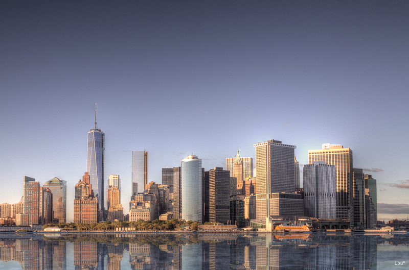 #1066 - Manhattan Skyline