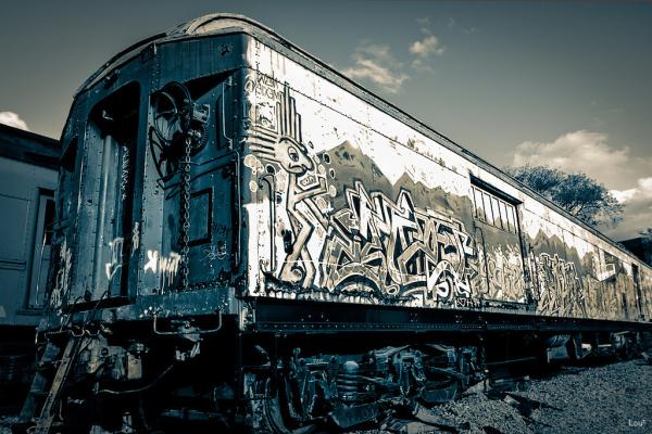 #1067 - Trains in Santa Fe