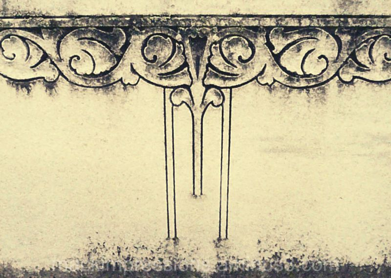 photo of a gravestone by kristen f. mack