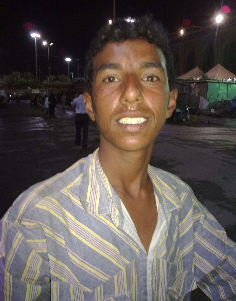 Arab boy!