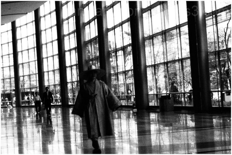Window Shopping Monk