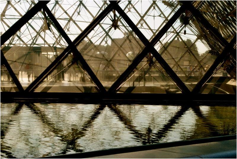 Reflecting Louvre II