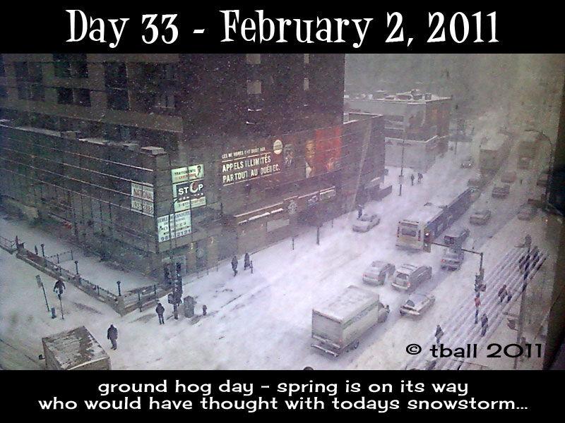 Groundhog day...