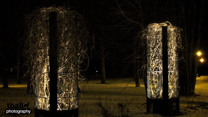 Funky tree lights
