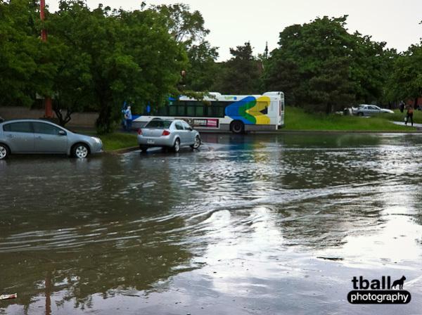 Angrignon flooded...