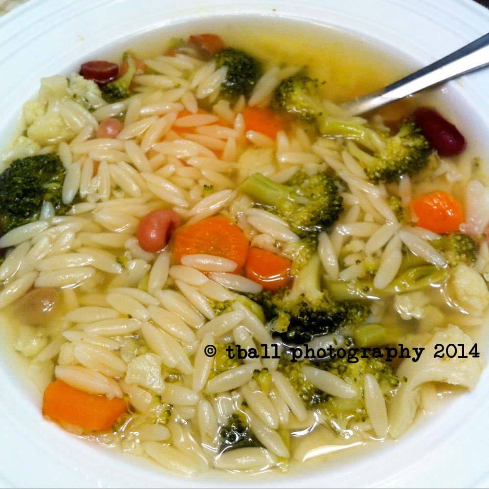 Made some homemade minestra!