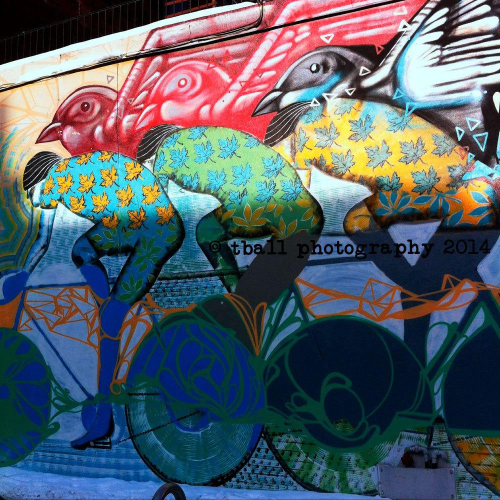 Downtown graffiti