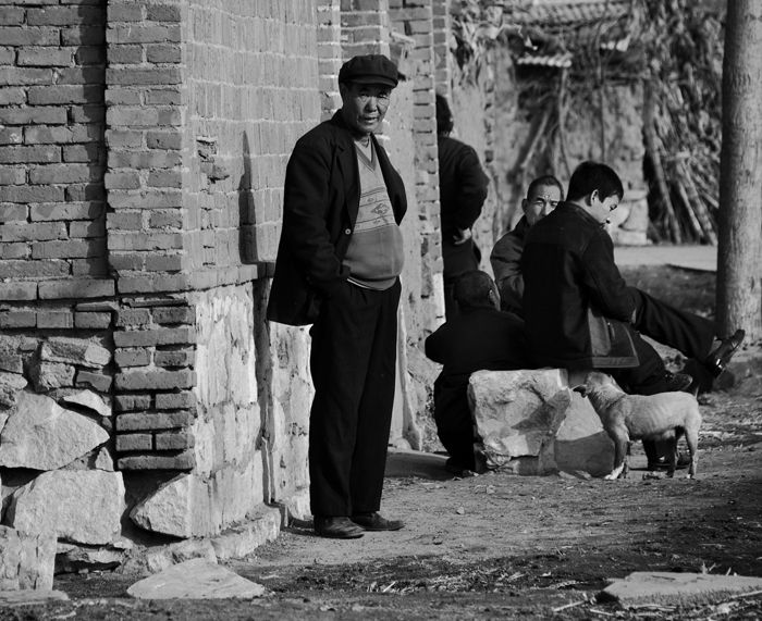 Reportage capture in chinese village