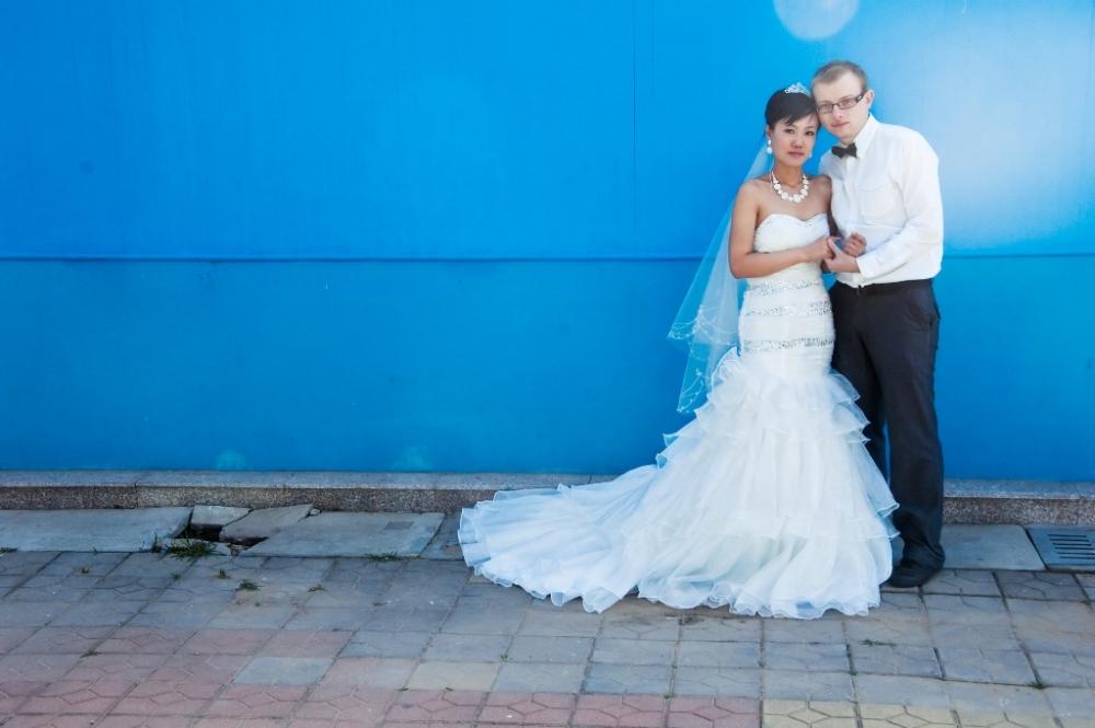 Me & my wife ... around 2 years ago