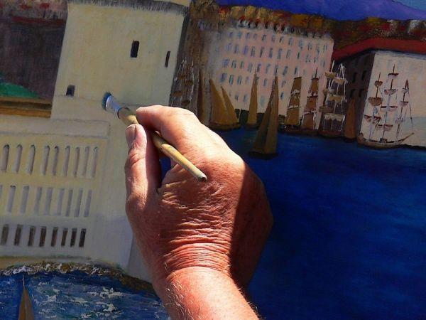 Marseille en peinture