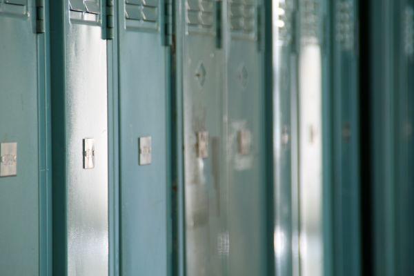locker, school, texture