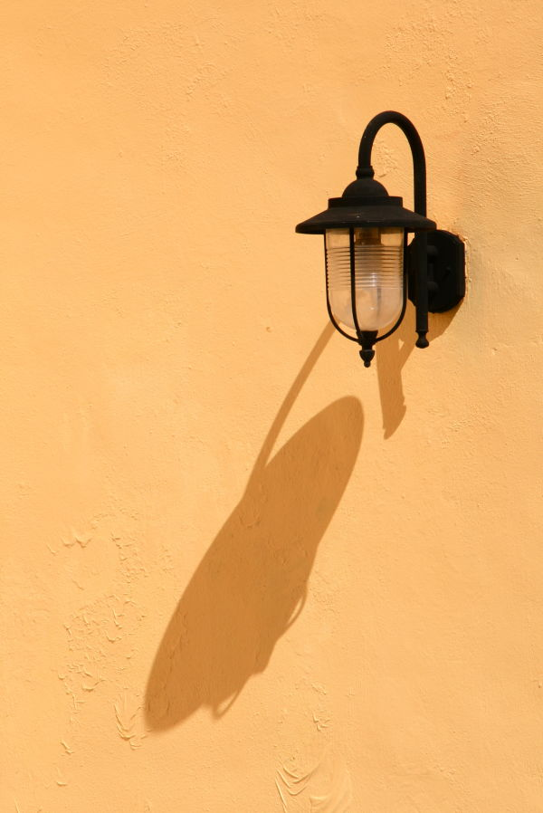 campeche, mexico travel lamp yellow