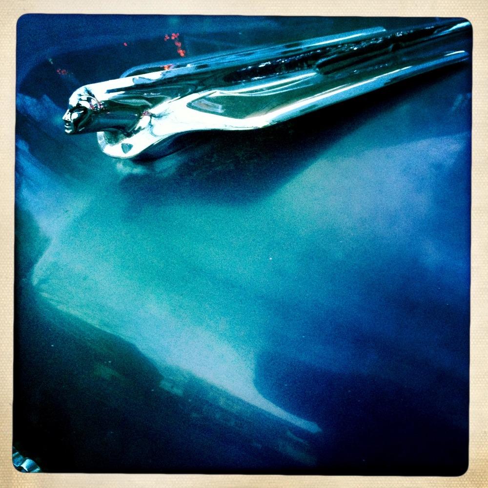 car, cadillac, ornement