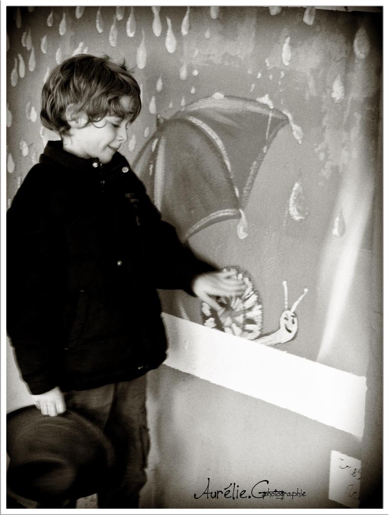 Le petit Prince et l'escargot