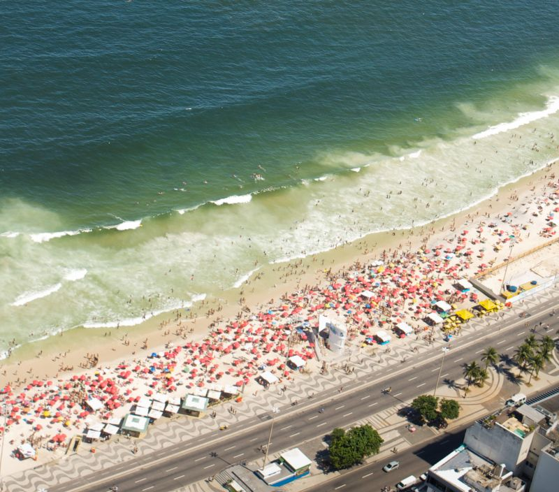 Copacabana from above