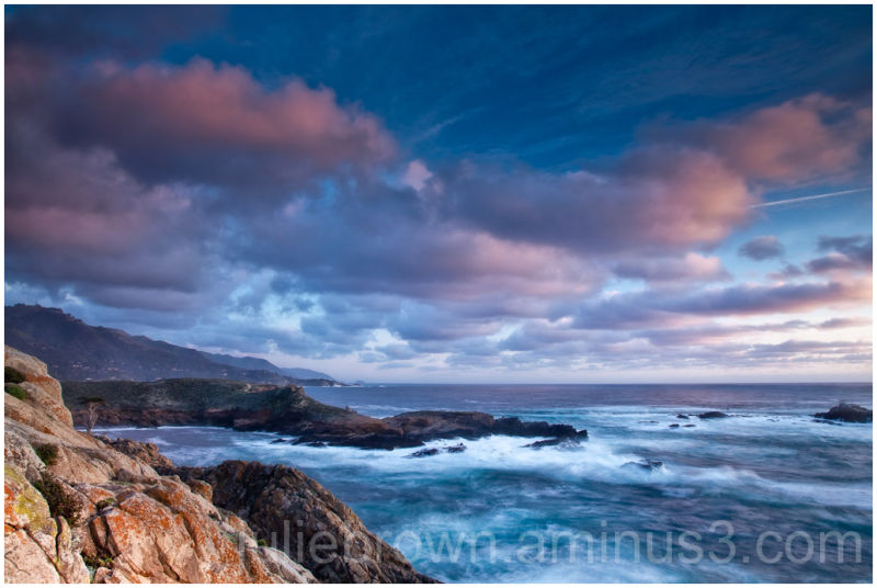 Sunset seen from point lobos