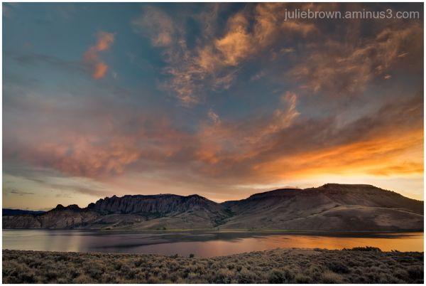 Blue Mesa Reservoir Curecanti recreation area