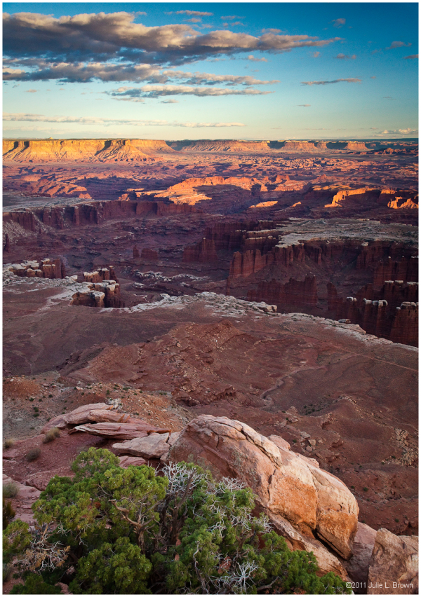 golden light grandview point canyon lands utah