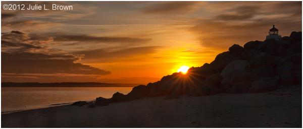 sunrise fort worden state park olympic peninsula