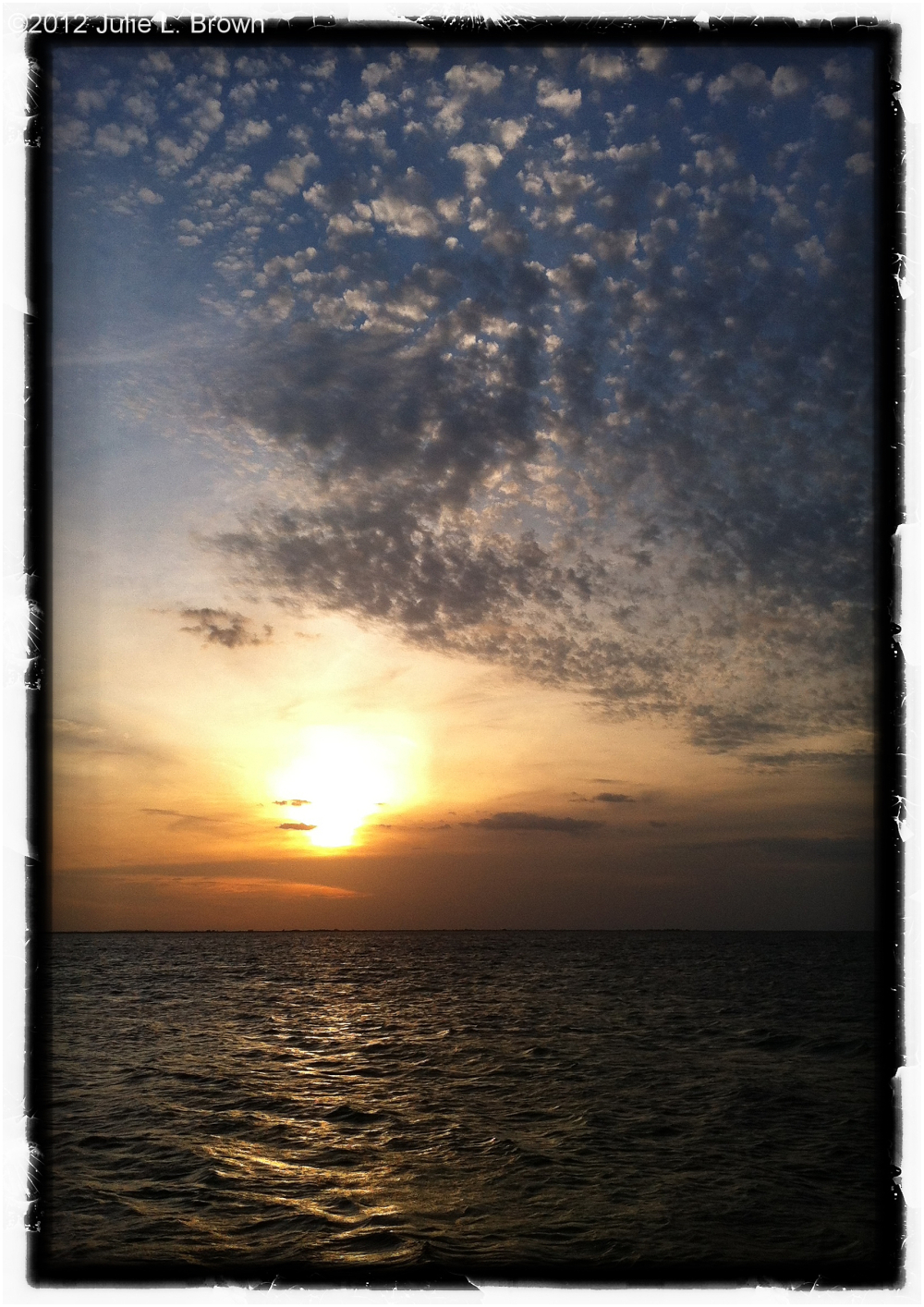 iphone landscape sunset-lake-okeechobee florida