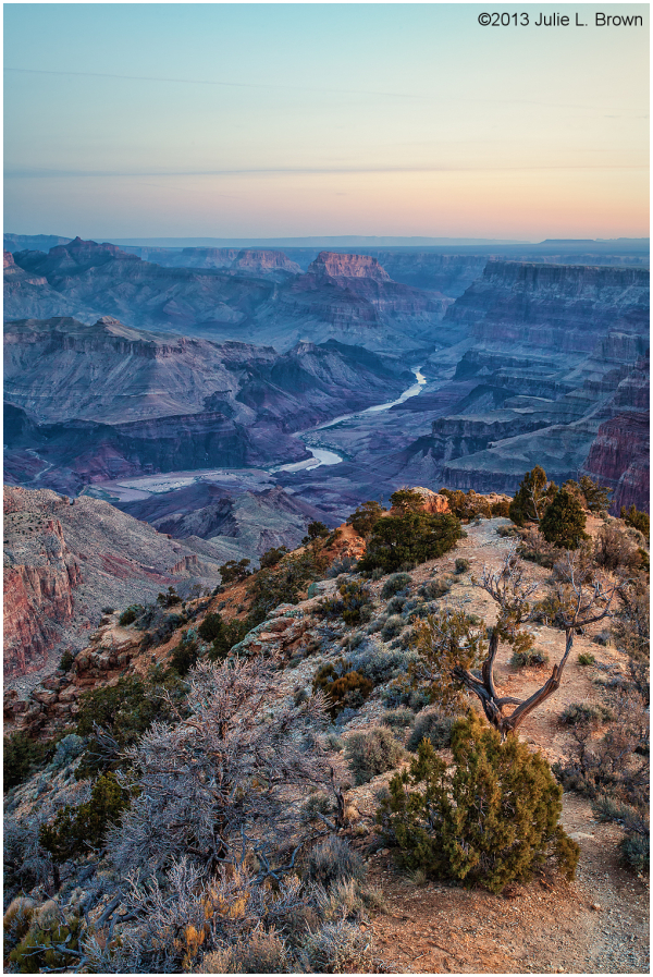 sunrise at grandview point grand canyon arizona