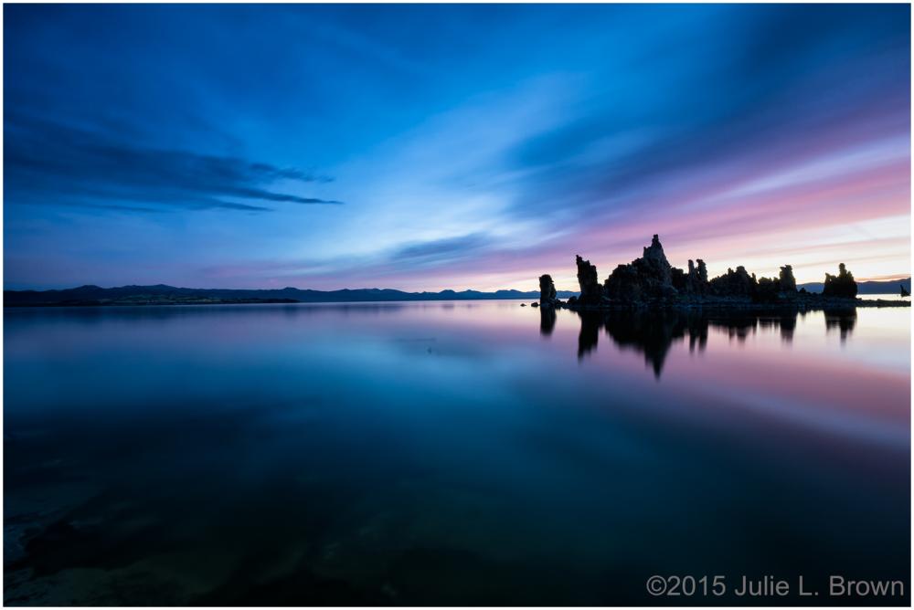 mono lake autumn south tufa sunrise