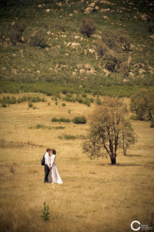 Summer Bush Wedding, Tidbinbilla, Canberra