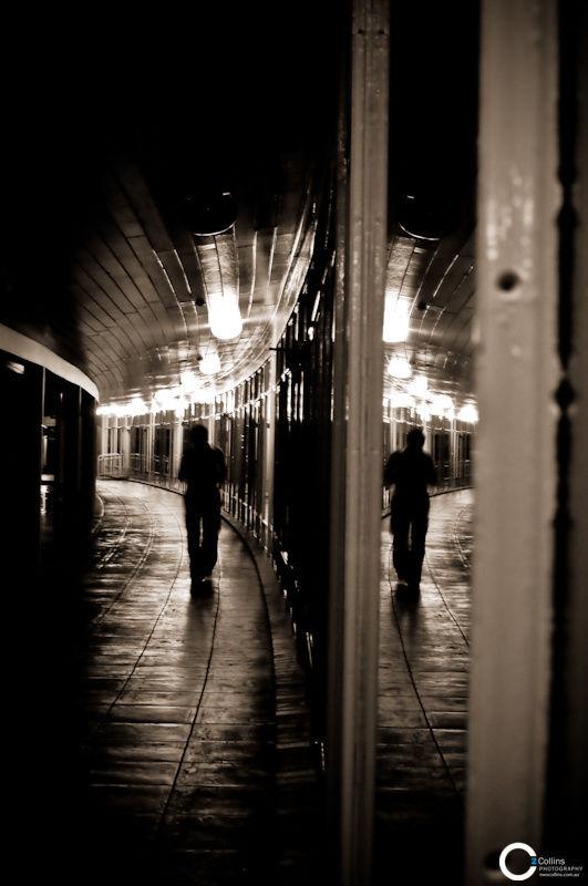 Night Walkway, University House