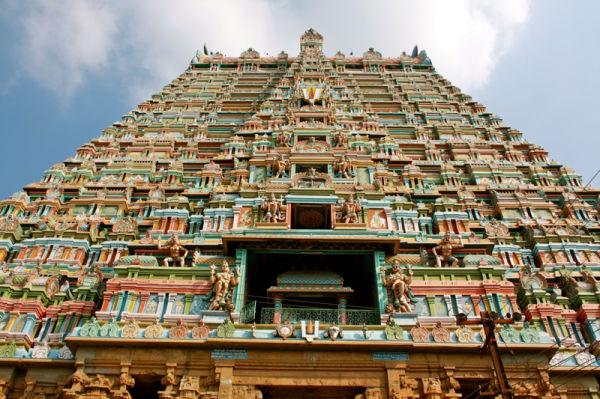 Main Gopuram of Sri Ranganathaswamy Temple