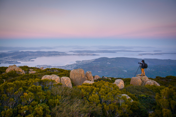 Atop Mt Wellington, Tasmania