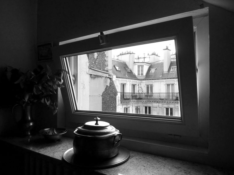 View of Paris from a window